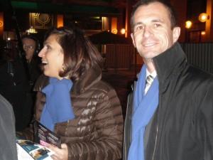 A la rencontre des Rhônalpins avec Nora Berra, lundi dernier, Gare Part Dieu