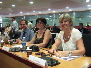 Avec mes collègues Joelle Sangouard et Nicole Vannier