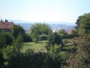 Lyon depuis le Parc Chambovet