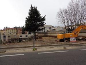 Le site de l'ancienne MJC qui vient d'être vendu par la Ville